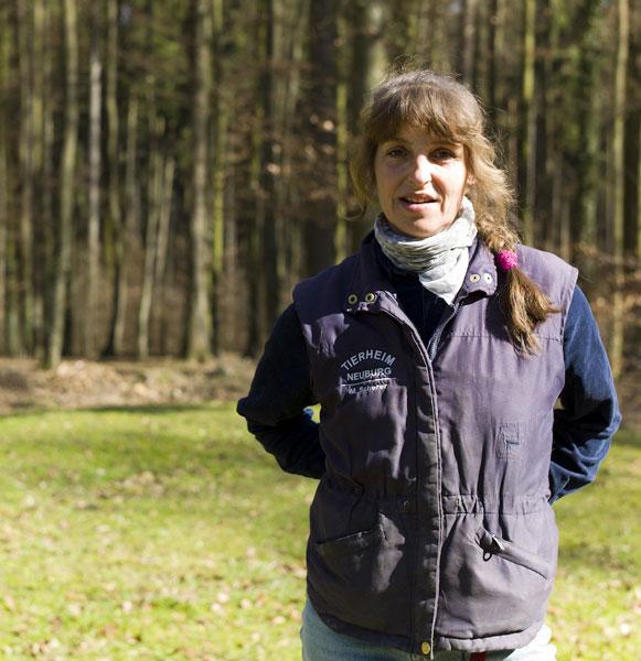 Manuela Scherer - Grosstiere, Futtervorrat