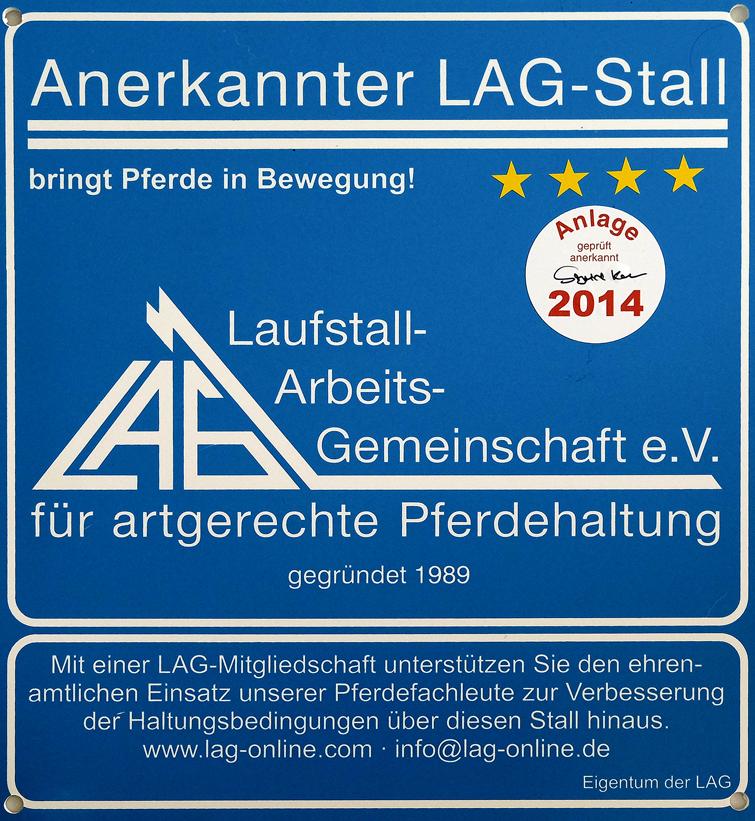 Tierschutzverein Neuburg-Schrobenhausen e.V. mit 4 Sternen der LAG ausgezeichnet
